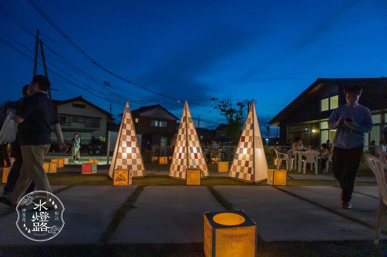 松江水燈路in宍道 2019 シンボル行燈