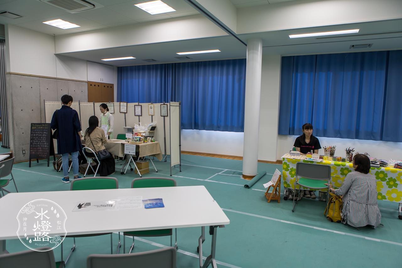 松江水燈路in宍道 2019 物販・体験