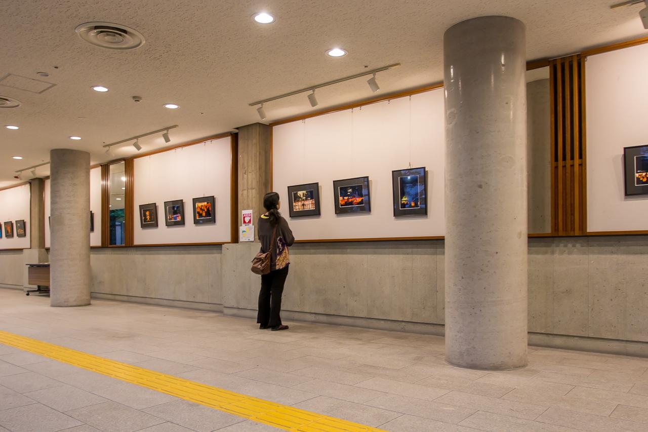 松江水燈路写真展・島根県民会館