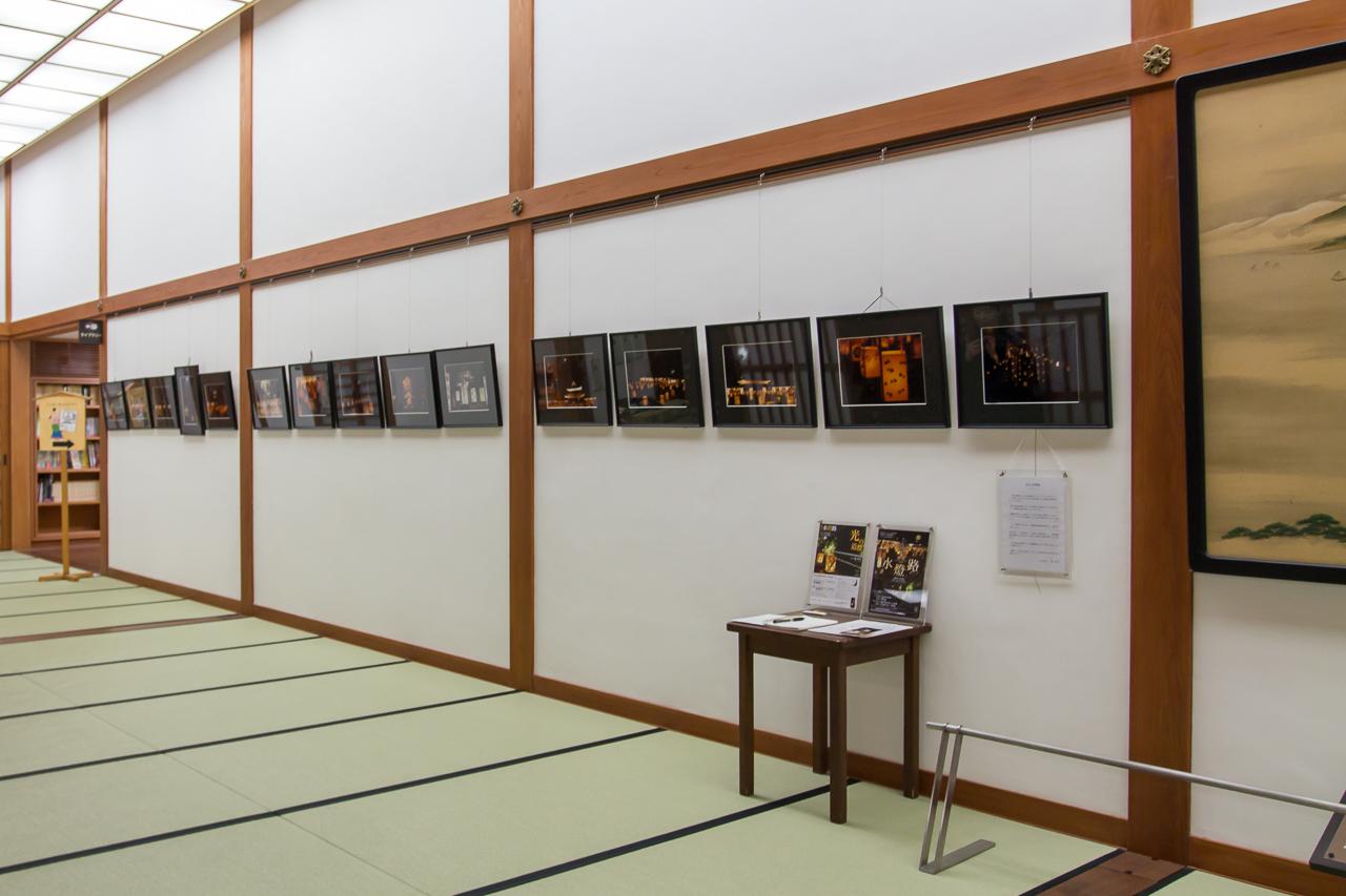 松江水燈路写真展・松江歴史館